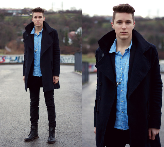 Simon Braun - H&M Coat, H&M Boots - THE ROAD IS MY HOME