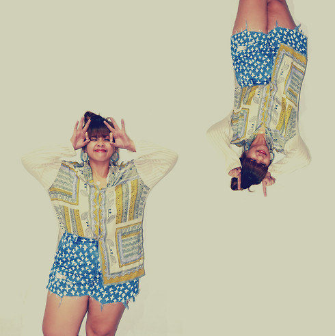 Thisbe Guevarra -  - DIY Cross Shorts