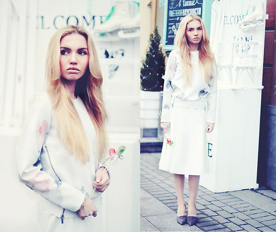 Darya Yakovleva - Zara Sweetshirt, Belmur Shoes, Asos Skirt - SWEET WINTER