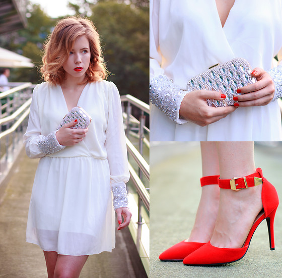 Wioletta Mary Kate - Iclothing Dress, Iclothing Shoes, Choies Clutch - Walk The Night